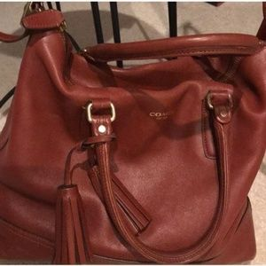 Tobacco Brown Coach Purse